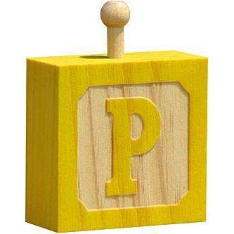 Hang-A-Name Letter Block P