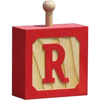 Hang-A-Name Letter Block R