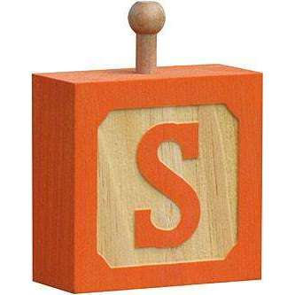 Hang-A-Name Letter Block S