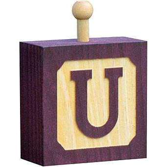 Hang-A-Name Letter Block U