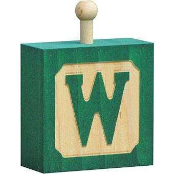 Hang-A-Name Letter Block W
