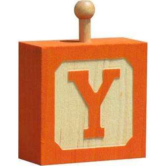 Hang-A-Name Letter Block Y