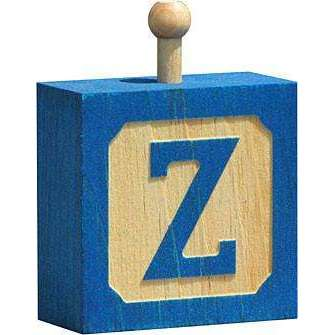 Hang-A-Name Letter Block Z