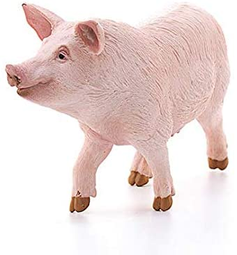 SCHLEICH Farm World Pig Educational Figurine for Kids Ages 3-8