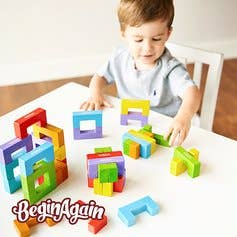 BeginAgain - U Build It Blocks - 24 piece set