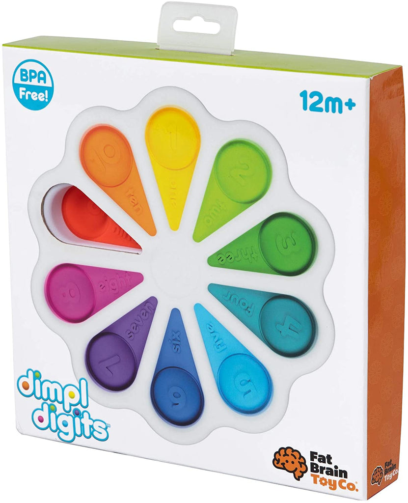 Fat Brain Toys Dimpl Digits Baby Toys & Gifts for Ages 1 to 2