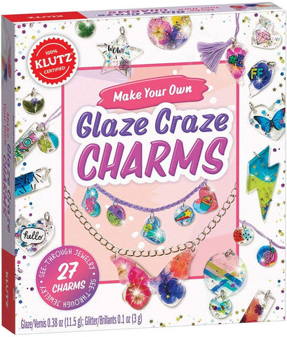 Klutz Make Your Own Glaze Craze Charms Craft Kit