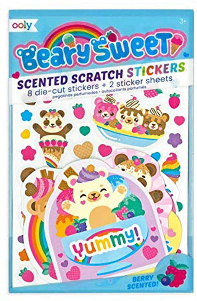Ooly Scented Scratch Stickers