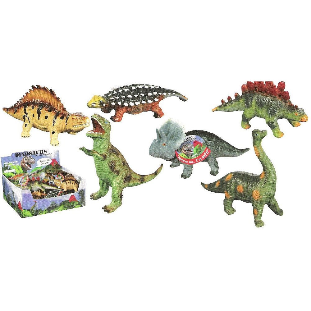 Toysmith Dinosaurs Squeezable Toy