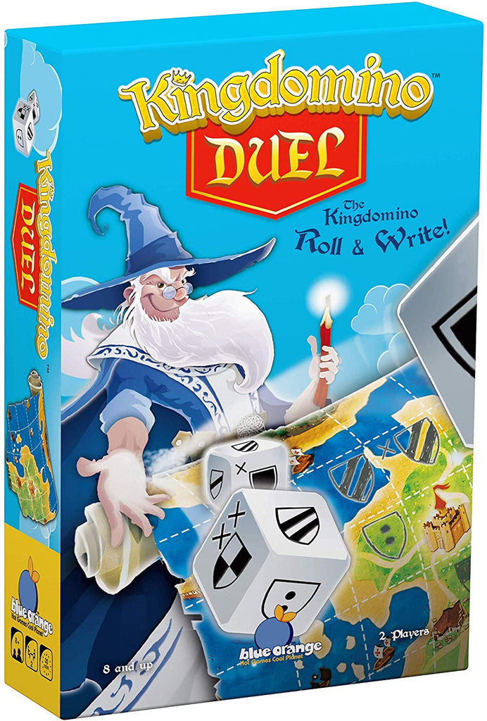 Blue Orange Kingdomino Duel Game
