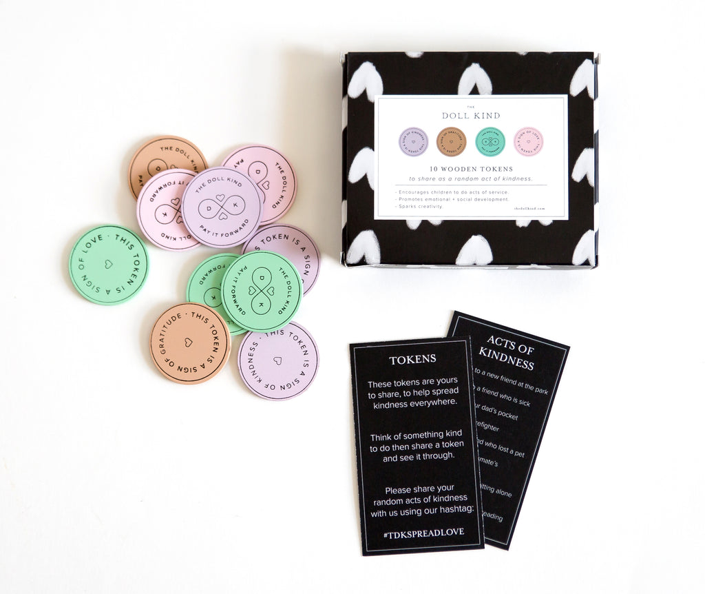 Kind Culture Co. - 10 Tokens Kindness Kit