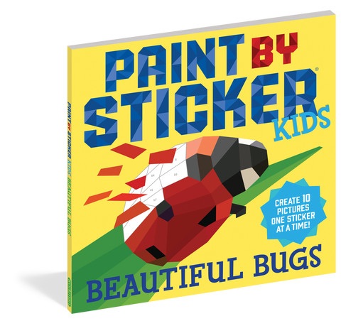 Workman Publishing Paint By Sticker Bugs Activity Book