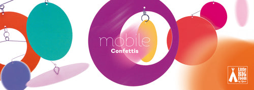 Mobiles Confetti by Little Big Room from Djeco