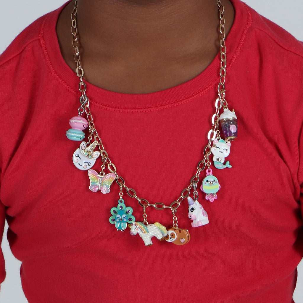 Charm It! Gold Chain Necklace