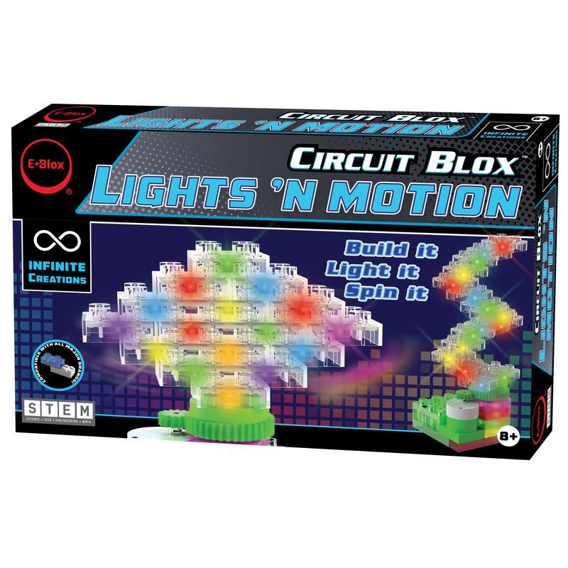 "E-Blox Circuit Blox - Lights n"" Motion"