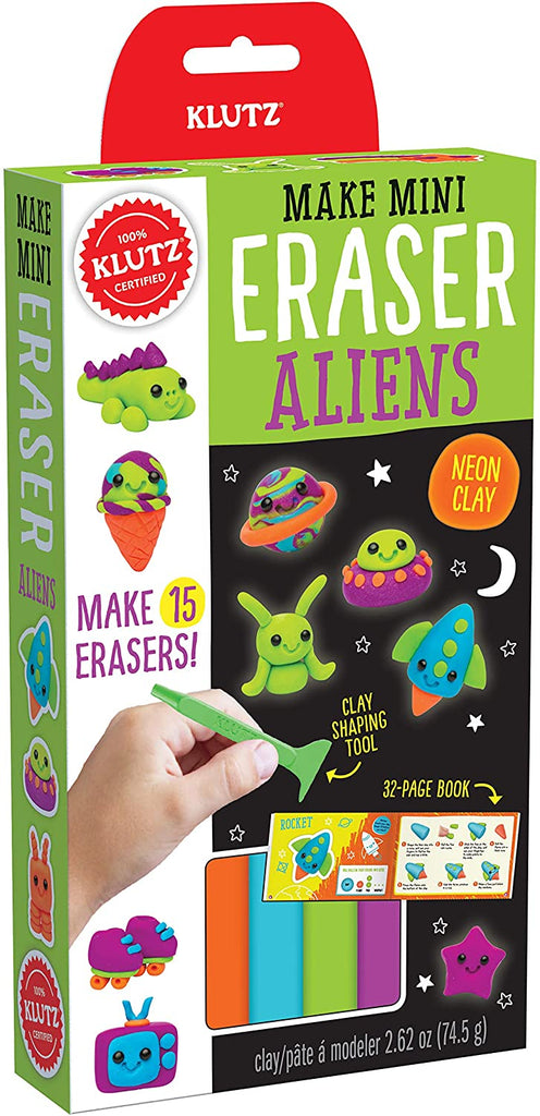 Klutz Make Mini Eraser Aliens Craft Kit