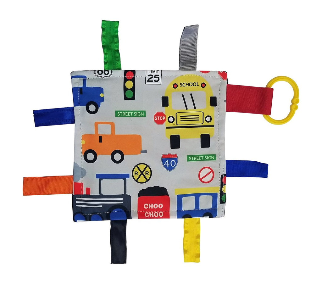 "Baby Jack and Company - Sensory Squares Traffic 8""x 8"""