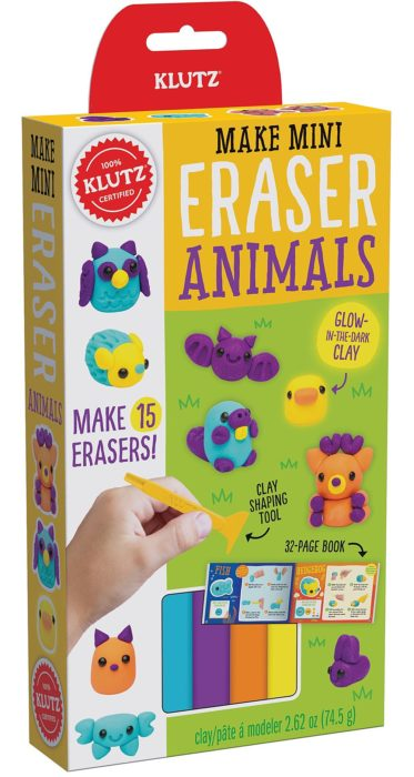 KLutz Mini Kit Mini Eraser Animals
