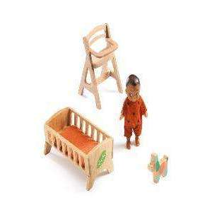 DJECO Baby Sweetie-Dolls & Accessories-Hotaling Imports Inc.-Nature's Nook Children's Toys & Books