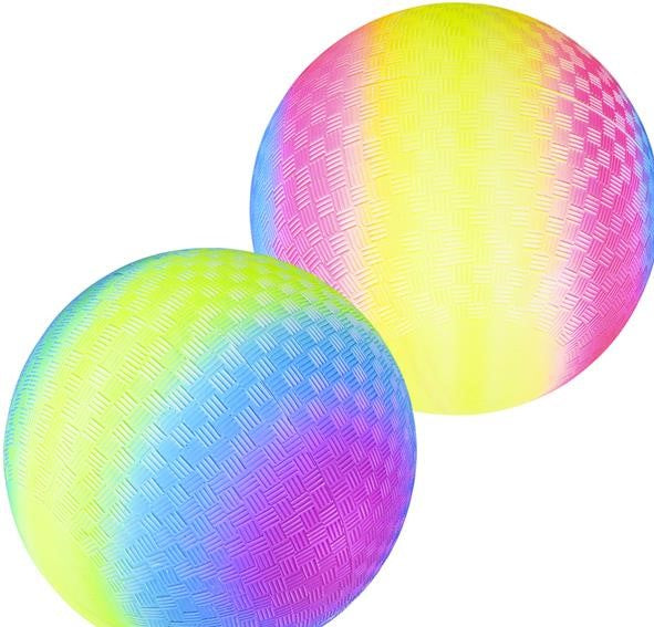 Rainbow  Playground Bouncy Ball