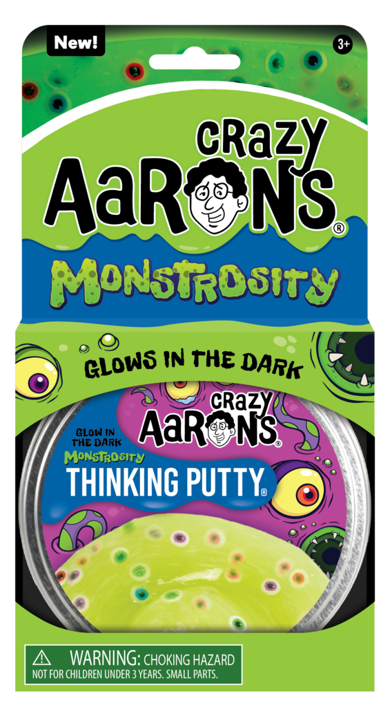 Crazy Aaron's Putty World, Monstrosity