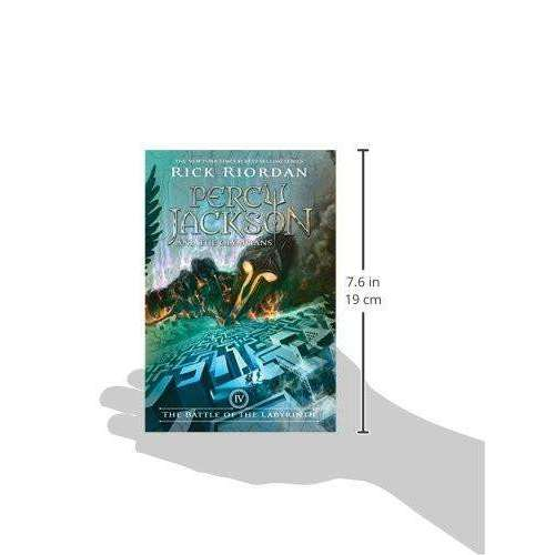 The Battle of the Labyrinth (Percy Jackson and the Olympians, Book 4) Paperback
