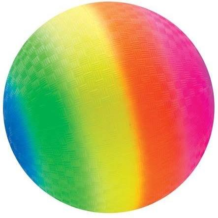 "16""  Rainbow  Playground Boucy Ball"