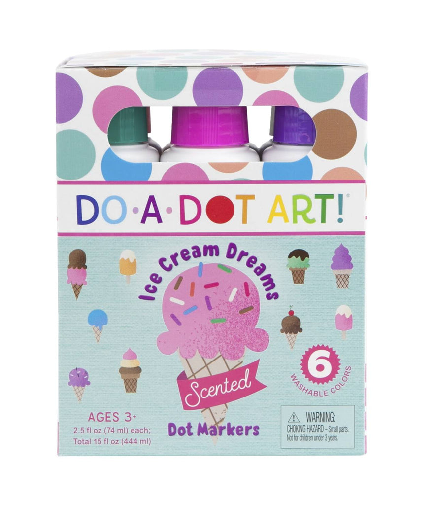 Do A Dot Art! Ice Cream Dreams Scented Markers 6 Pack