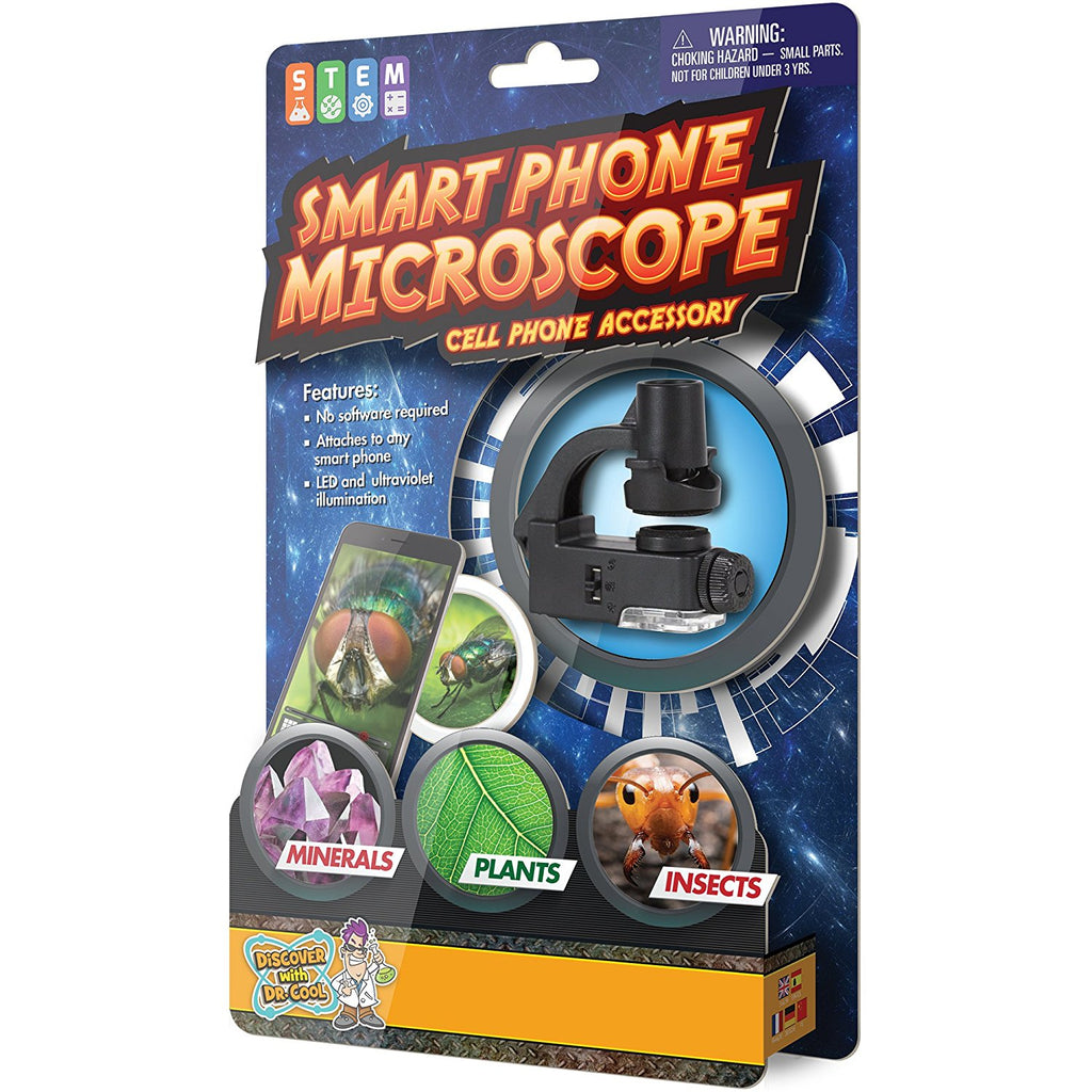 Smartphone Microscope by Discover with Dr. Cool