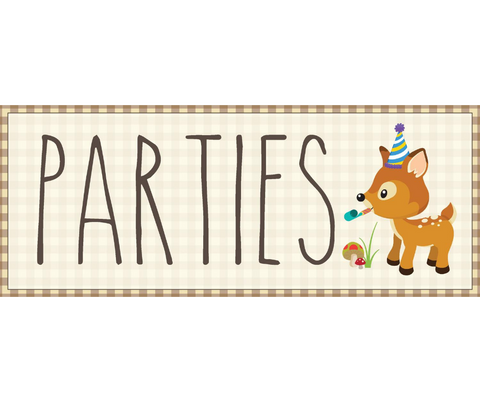 Birthday Party Packages 1.5 Hours