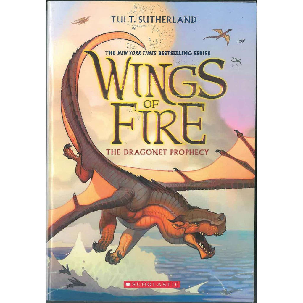 Wings of Fire Book One: The Dragonet Prophecy Paperback