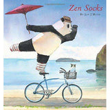 Zen Socks Hardcover – September 29, 2015 by Jon J Muth  (Author)