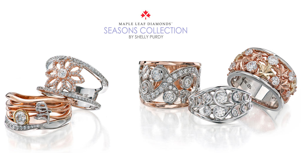 Shelly Purdy for Maple Leaf Diamonds - Seasons Collection