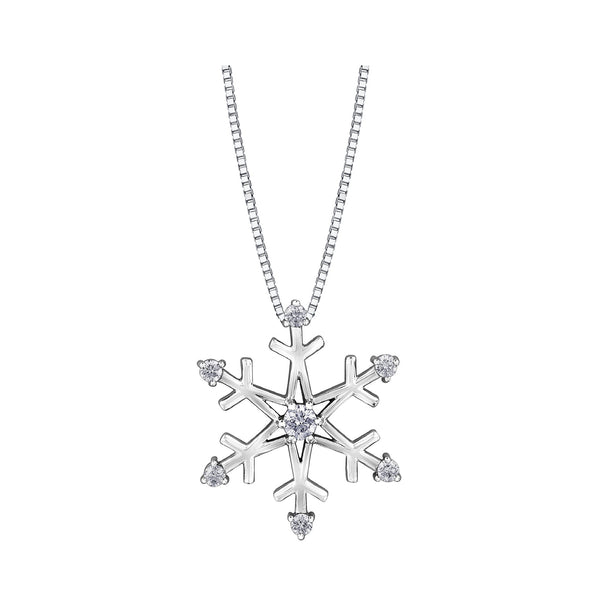 Snowflake Pendant - Medium