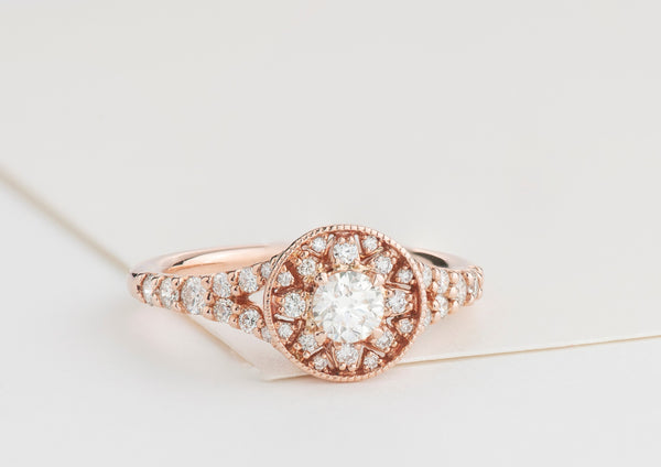 Lily Filigree Ring