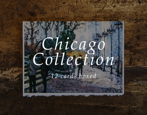 Chicago Collection - 12 Greeting Card