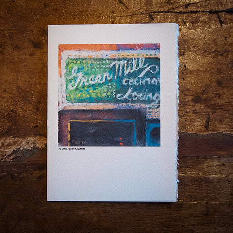 """Chicago Legend"" Green Mill Greeting Card"