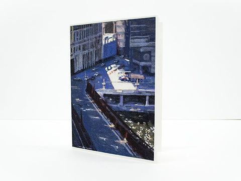 """Limelight"" – Wacker Drive Greeting Card"