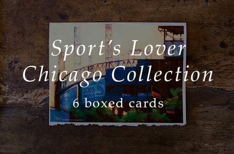 Sport's Lovers - Chicago Collection - Greeting Cards