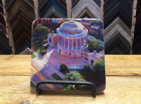 """Neighborhood Gem"" Marble Coaster"