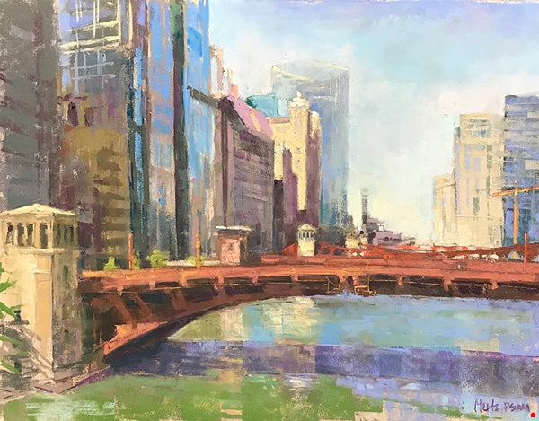 """West from Wabash"" Giclee Print"