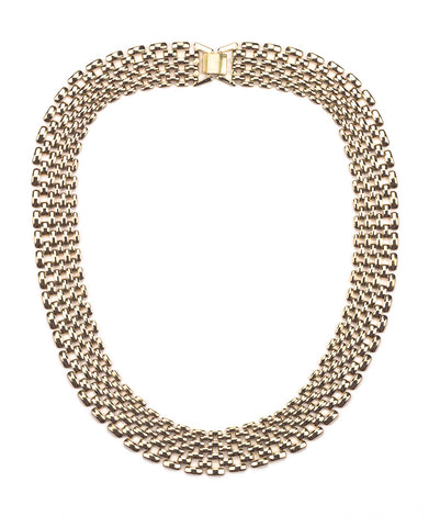 Brick Gold Necklace
