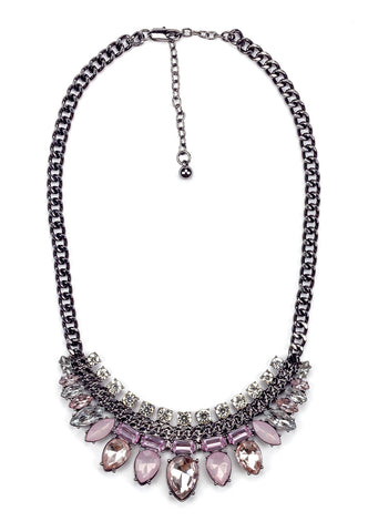 Lady Pink Statement Necklace