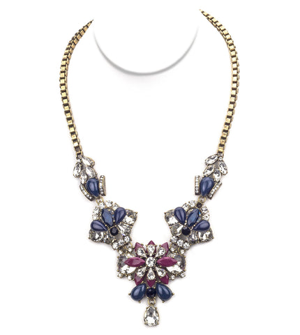 Touch Of Burgundy Necklace