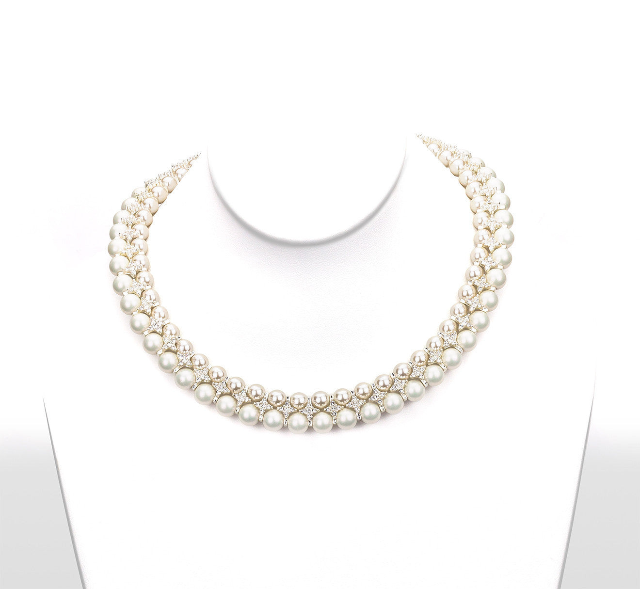 Panthus Two Tone Pearl Collar