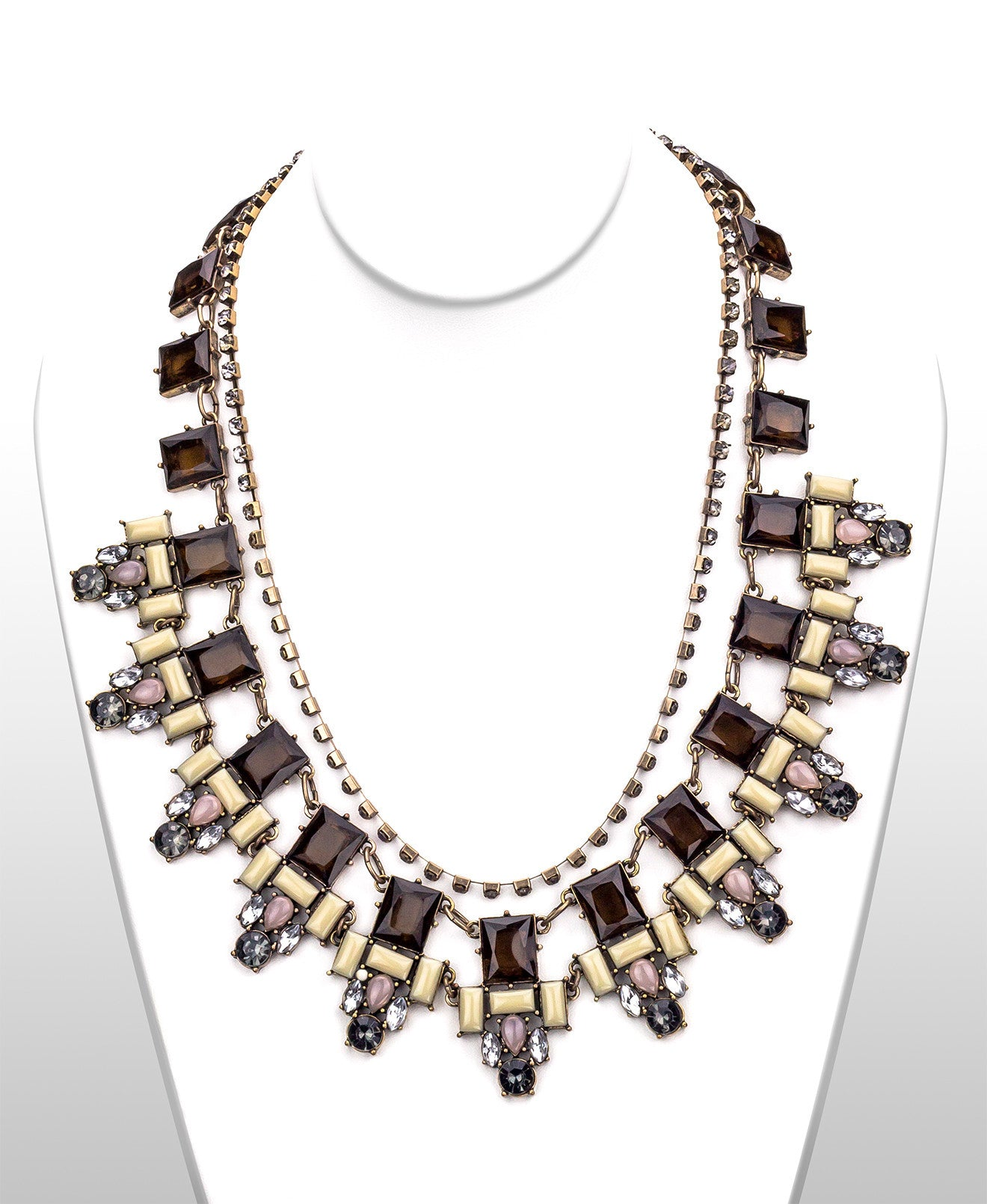 Glam Roman Statement Necklace