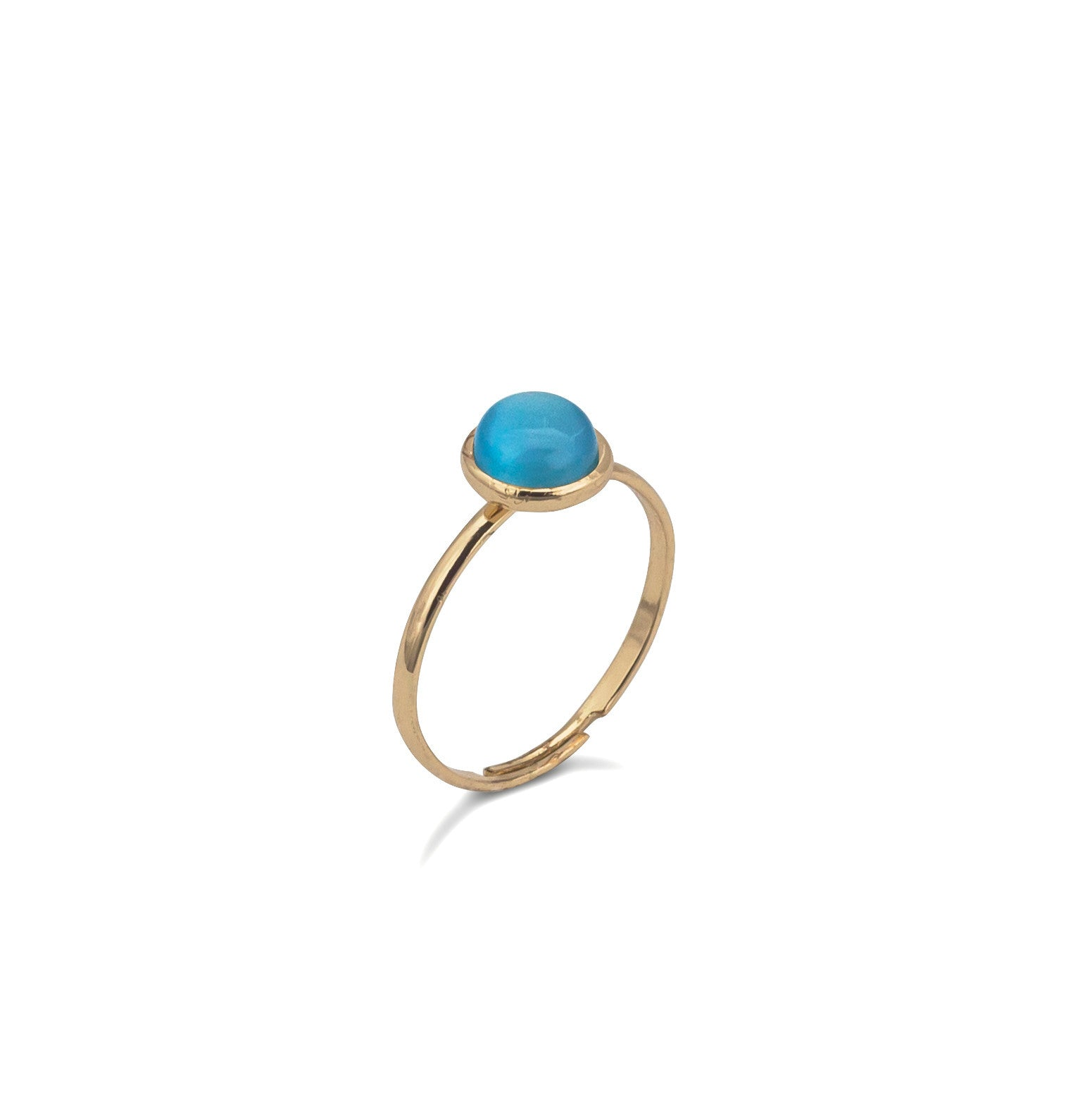 Pop Simple Ring - Turquoise