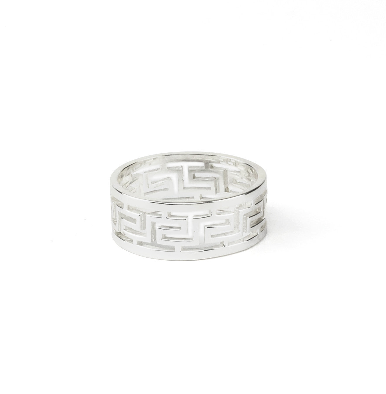 Labyrinth Silver 925 Ring