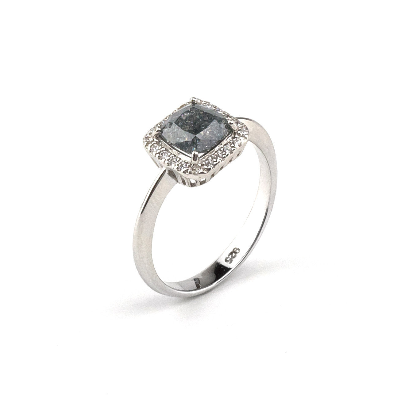 Vintage Gray Stone Ring