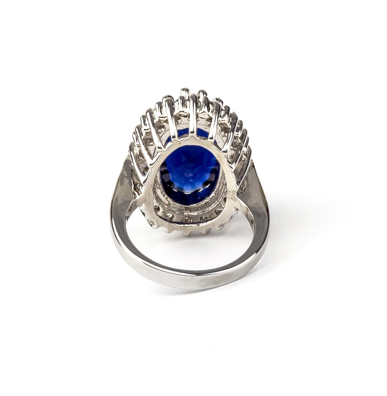 Bold Blue Statement Ring